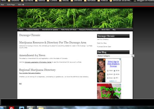 New Marijuana Website